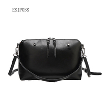 New design women bag female shoulder bag retro Messenger bag women fashion handbag ladies casual square leather crossbody bag(China)