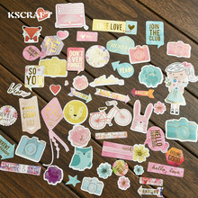 KSCRAFT 45pc Join The Club Cardstock Die Cuts for Scrapbooking Happy Planner/Card Making/Journaling Project