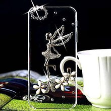 Buy 3D Bling Handmade Rhinestone Diamond Hard Shell Transparent Clear Back Case iPhone X 4S 5 5S SE 5C 6 6SPLUS 7 8 PLUS Screen for $3.20 in AliExpress store
