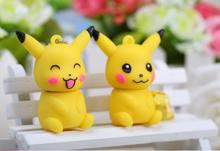 Usb Stick USB flash drive Lovely pink/yellow Pikachu  USB 2.0 flash drive memory stick  4GB-64GB S239pendrive