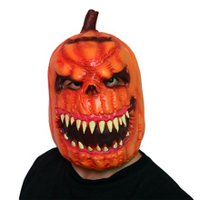 Halloween Pumpkin Ghosts Scary Mask latex Creepy party Props Cosplay costume Halloween Festival Head Masks Adult funny ball caps(China)