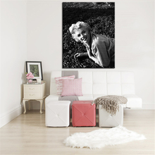 white and black judy garland old poster wall painting for home decor oil painting wall art print canvas No Framed WALL PICTURES(China)