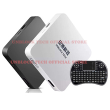 TV Box  Ubox 3 UNBLOCK TECH Bluetooth Android 5.1 ubox3 IPTV Gen3 S900 Pro UBTV Smart TV Box HD 4K 16G  Media Player WiFi 1000+