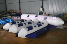 funny inflatable water game flyfish boat