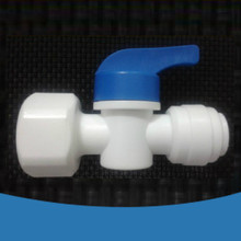 1/4 inch Inline Quick Fitting,1/2 female thread Ball Valve Fitting Connection Aquarium RO Water Filter Reverse Osmosis System - Shop2945114 Store store