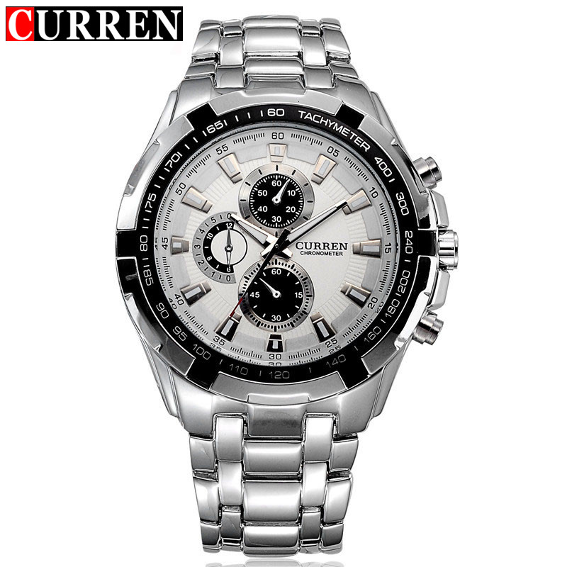 NEW2017 curren watches men Top Brand fashion watch quartz watch male relogio masculino men Army sports Analog Casual watch 8023<br><br>Aliexpress