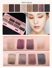 BY NANDA Brand *##S602* Genuine crystal diamond shine 8 color  eye shadow brand eye shadow plate Camouflage Facial Concealer