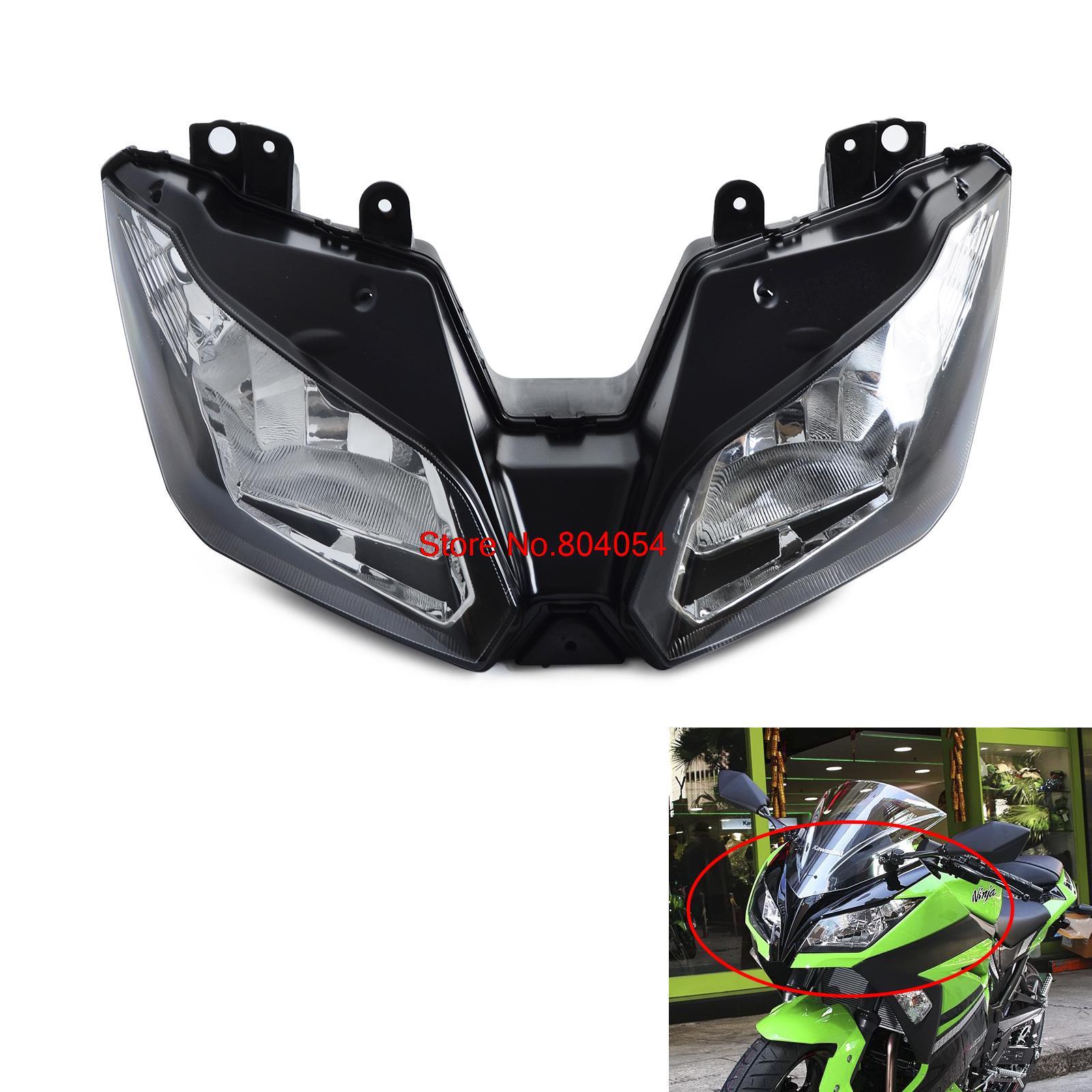 Front Headlight Headlamp Head Lamp Light Clear For Ninja 300 2013 2014 2015 Versys 650 1000 2015 2016 new<br><br>Aliexpress
