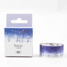 2cm*5m Beautiful dream sky washi tape DIY decoration scrapbooking planner masking tape adhesive tape label sticker