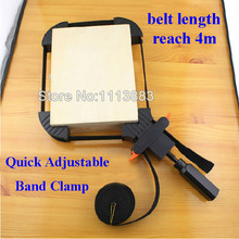 Multi-function Binding Belt Clamp Quick Adjustable Band Clamp Angle Clip With 4M Long Belt Non Skip TPR Handle Woodworking Tool