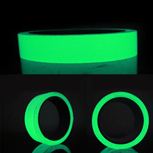 NC Luminous Self-adhesive Tape Sticker Photoluminescent Glow in the Dark DIY Wall Fluorescent Safety Emergency Stairs Line