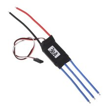ABWE Best Sale 30a Brushless ESC Rc Heli Motor Electric Speed Control(China)