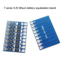 5pcs/lot 7 series 29.4V 18650 lithium battery equalization function board 7S25.9V polymer battery equalization b