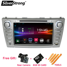 FREE SHIPPING Android CAMRY DVD Car Radio for Toyota Camry V40 Radio 2DIN CAR GPS Navigation Android 4 Headunit DVD NAVI(Hong Kong)