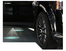 Buy 2PCS led car door welcome projector logo laser/shadow light Aurora Evoque Freelander Discoverer Range Rover for $23.80 in AliExpress store