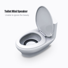 2016 new mini toilet Portable Speaker notebook Speaker Computer Speakers loudspeakers for iPhone Samsung Huawei free delivery