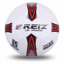REIZ Football Soccer Ball 21.5cm Official Size 5# Football Training Competition Balls Anti-Slip Seemless Match Outdoor Sports(China)