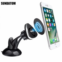 Universal Magnetic Mount Car Dashboard Stand Mobile Phone Holder Sticky Car Kit Magnet For iPhone 7 Samsung 8 Plus Smartphone(China)
