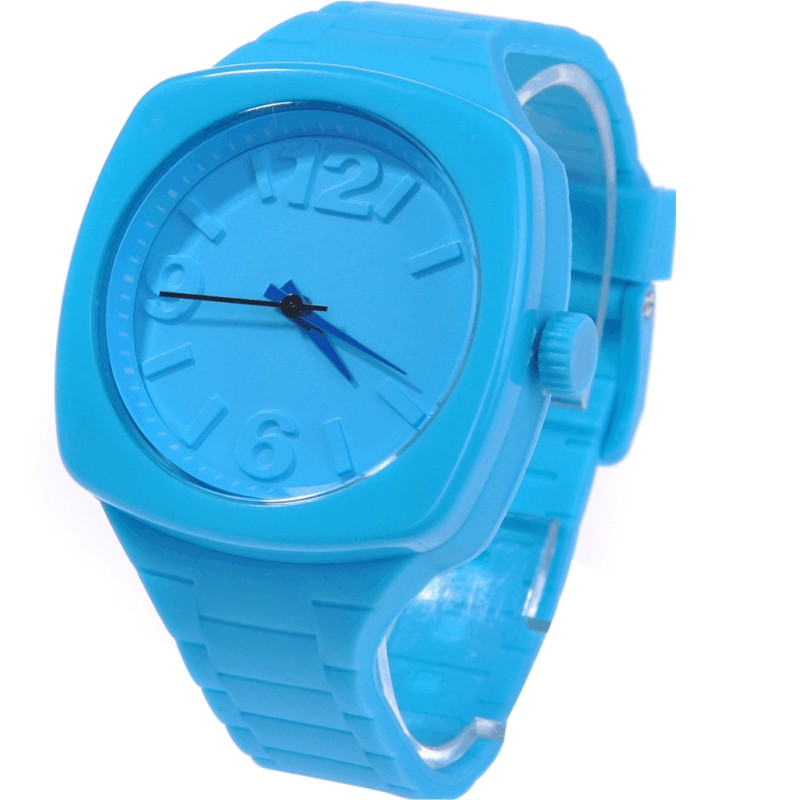 Authentic new belt contracted EVECICO children watch waterproof watch jelly watch sports men and women fashion pointer<br>
