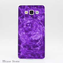 2798CA Purple Crystal Ball Transparent Hard Cover Case for Galaxy A3 A5 A7 A8 Note 2 3 4 5 J5 J7 Grand 2 & Prime
