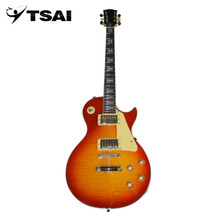 TSAI Shipping from USA Electric Guitar Mahogany Body Rose Wood Fingerboard 22 Frets Guitar 6 String Closed Tuner For Players(China)