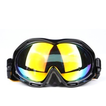 High Quality Double Layer Anti Fog 100% UV Protection Windproof Ski Goggles Skiing Glasses Snow Eye - wear Snowboard Goggles(China)
