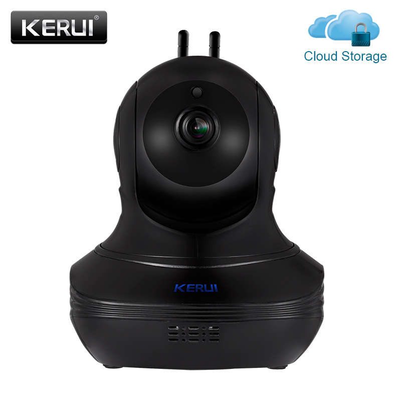 KERUI 1080P Full HD Indoor Wireless Home Security WiFi Cloud Storage IP Camera Surveillance Camera Home Alarm Camera<br>