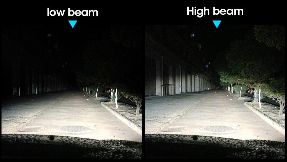 6 hlxg 4 Sides 12000LM H8 H11 Fog lights No Error Free h7 led canbus H4 Lamp HB3 9005 HB4 90W light bulbs for cars 24V 12V 6000K