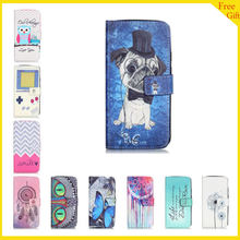 "Luxury Wallet Paint Case For Motorola Moto G4 Play G 4 Play 5.0 ""  Case Flip PU Leather Cartoon Case For Moto G4 Play Back Cover"