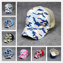 Hot Sale Women Baseball Cap Ladies Fashion Camouflage Hats Summer Print Mesh Caps Female Outdoor Sport Sun Hat Gorras Mujer 2017