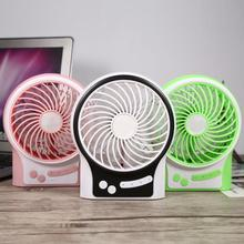Mini Portable USB Rechargeable Electric Fan Desk Handheld Fans Practical for Home Office Air Conditioner Cooler Student
