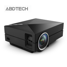 Abdtech LED Wifi Mini projector full HD 1080p 1000 Lumens Portable Video Multimedia projectors HDMI USB Home Media Player