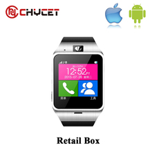 Chycet Best buy Aplus GV18 Smart bluetooth watch with Camera wristWatch SIM card Smartwatch for IOS Android Phone PK Q18 DZ09