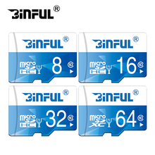 New Binful Memory Card Micro SD 32GB 64GB 128GB Class 10 Micro SD Card 8GB 16GB Microsd Cartao de Memoria Tarjeta SD TF Card(China)