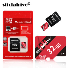 Stickdrive New Micro SD Card 4G 8GB mini sd card 16GB 32GB 64GB Class 10 Memory Card Flash TF card for cell Phones Tablet Camera(China)