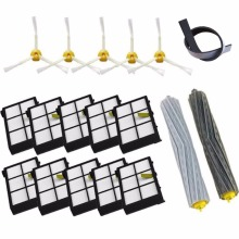 1 Tangle-Free Debris Extractor Set & SideBrushe & Hepa Filter For iRobot Roomba 800 900series 870 880 980 Vacuum Cleaning Robots(China)