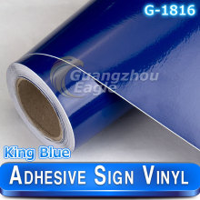 Glossy King Blue sign Cutters sign vinyl plotter vinyl printer cutter 1.06*33 m/roll Free Shipping