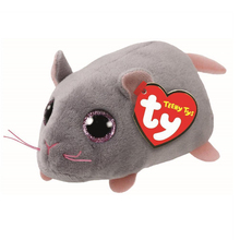 "Pyoopeo Ty Teeny Tys 4"" 10cm Miko Mouse Plush Beanie Boos Plush Stuffed Animal Collectible Soft Big Eyes Doll Toy"
