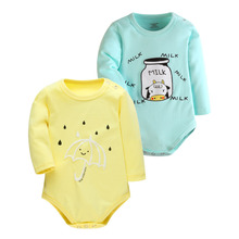 2 Pcs/lot 2016 New Fashion Baby Boys Clothes Body Cartoon Rompers Baby Romper Baby Clothing Newborn Baby Cothes Boy Girl's Wear(China)