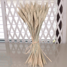 50 pieces dried flower ear of wheat decor wedding decorations Artificial flower silk vase plants Camera wheat christmas t3(China)