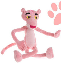 Baby Kids Creative Present Gifts Pink Panther Lovely Doll Soft Plush Toys Birthday Toy Cute 40cm Hot Sale In Stock Free Shipping