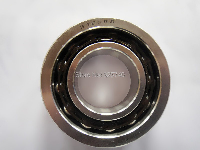Stainless Steel  Angular Contact Ball Bearing 7206 S7206B  30x62x16  size:30*62*16mm<br>