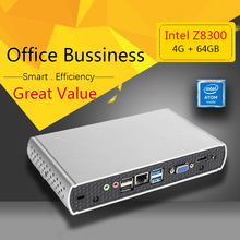 WPNA HTPC Q1 Intel CPU Atom Z8300 4GB 64GB SSD HD Graphics 300M WIFI mini pc windows Computer(China)