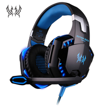 KOTION EACH G2000 LED Stereo Over-ear Headphones Headband Gaming Headset with Microphone for Razer Gamer