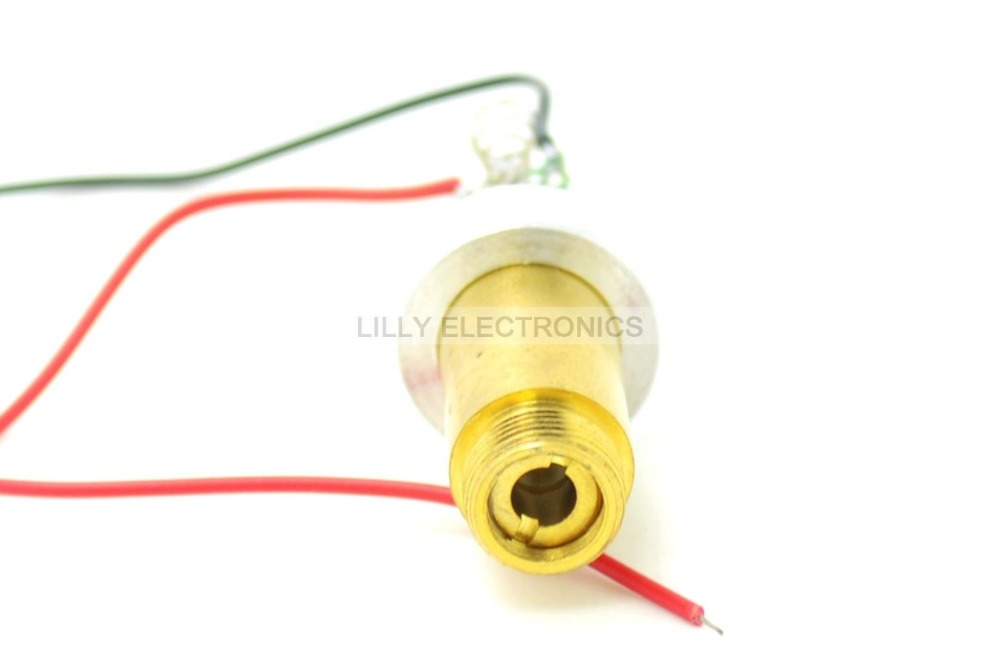 532nm 100mW Green Pumped Laser Diode Module 3.0V-3.7VDC with Heatsink<br>