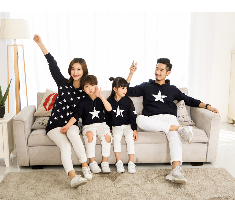 family matching outfit star hoodie outfit pictures ideas