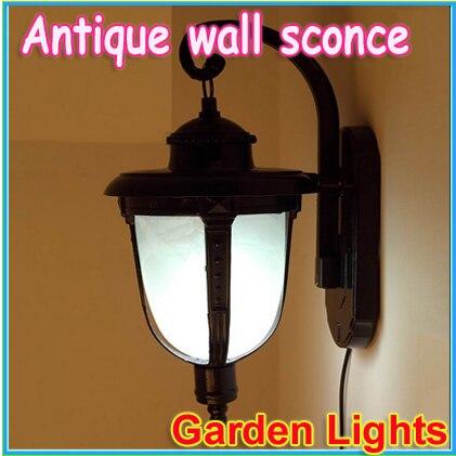 free shipping Outdoor solar lights outdoor wall lamp antique European garden lamps / energy-saving decorative<br><br>Aliexpress