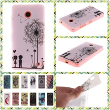 For Nokia Lumia 630 635 case N635 N630 Ultra Thin Soft Silicone TPU Case Package edge Mobile Phone Protective Back Cover Case