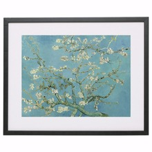 Van Gogh Almond Blossom, 1890 Canvas Art Print Painting Poster Wall Pictures For Living Room Home Decorative Wall Decor No Frame