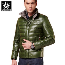 New Winter Men White Goose Down Jackets Plus Size M-3XL Good Quality Stand Collar Style Cold Winter Man Casual Windproof Parkas